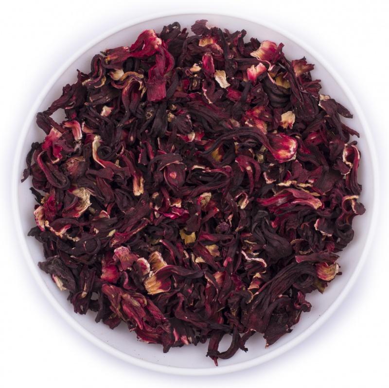 гибискус чай цвет